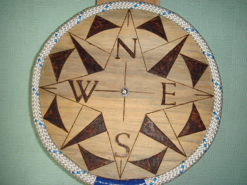 Nautical Compass Rose by na320