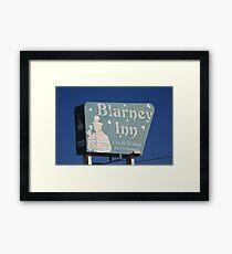 Route 66 - Blarney Inn Framed Print