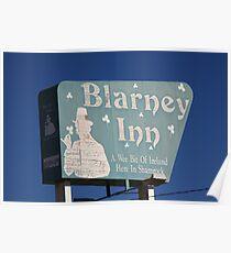 Route 66 - Blarney Inn Poster