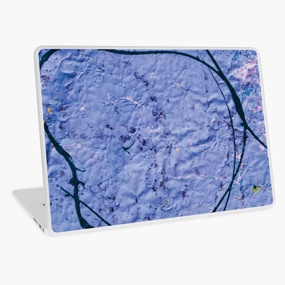 indigo rough texture Laptop Skin