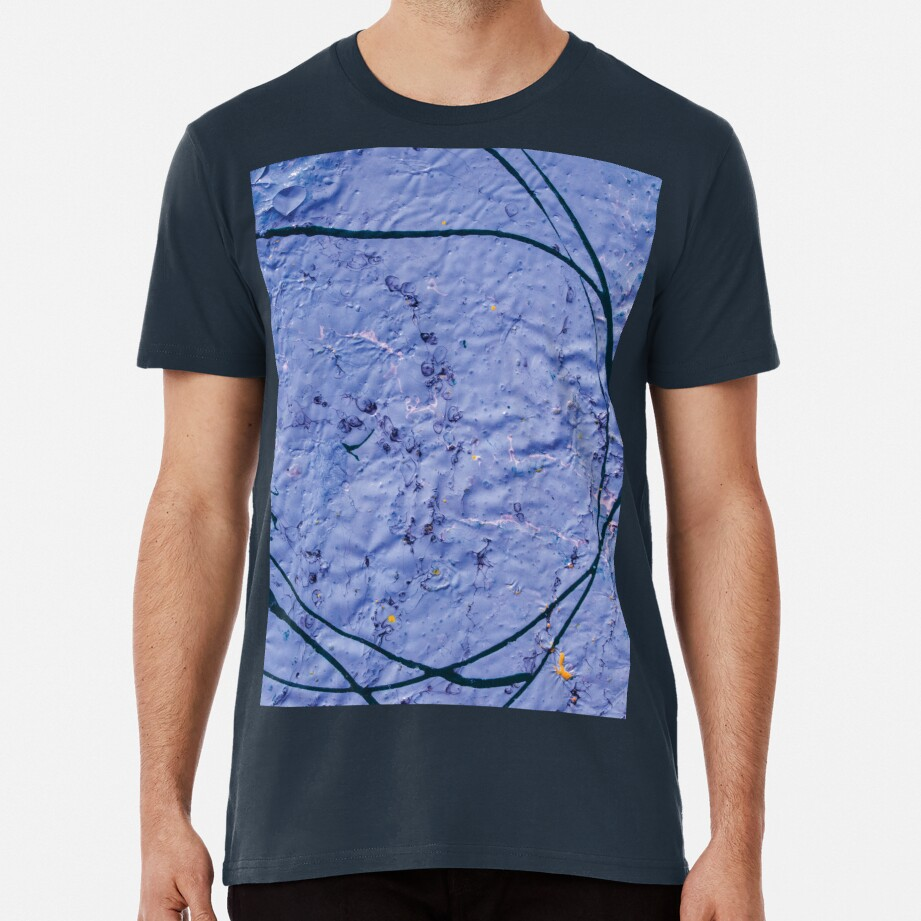 indigo rough texture Premium T-Shirt
