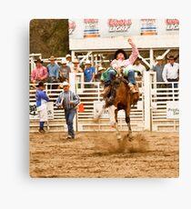 Rodeo - Bucking Bronco  Canvas Print