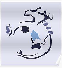 Lugia (Tribal) Poster