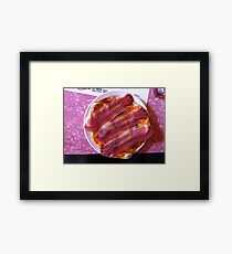 Pizza Gorgonzola Framed Print