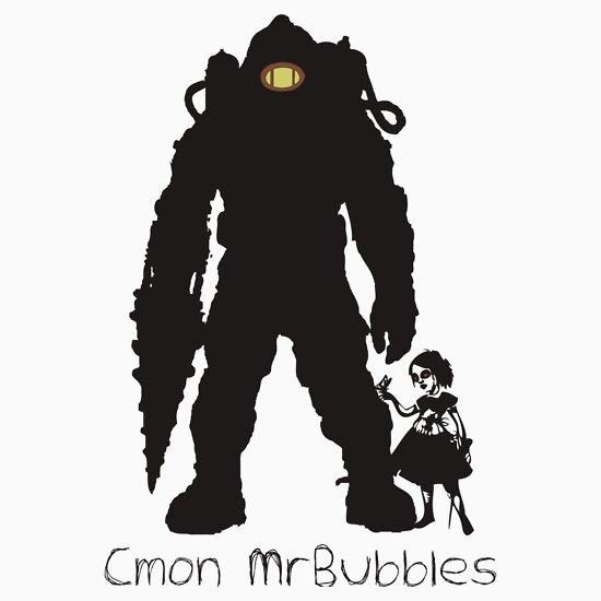 TShirtGifter presents: Cmon Mr.bubbles
