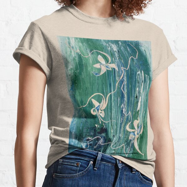 abstract water surface Classic T-Shirt