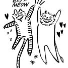 Big Meow by jillianailsa