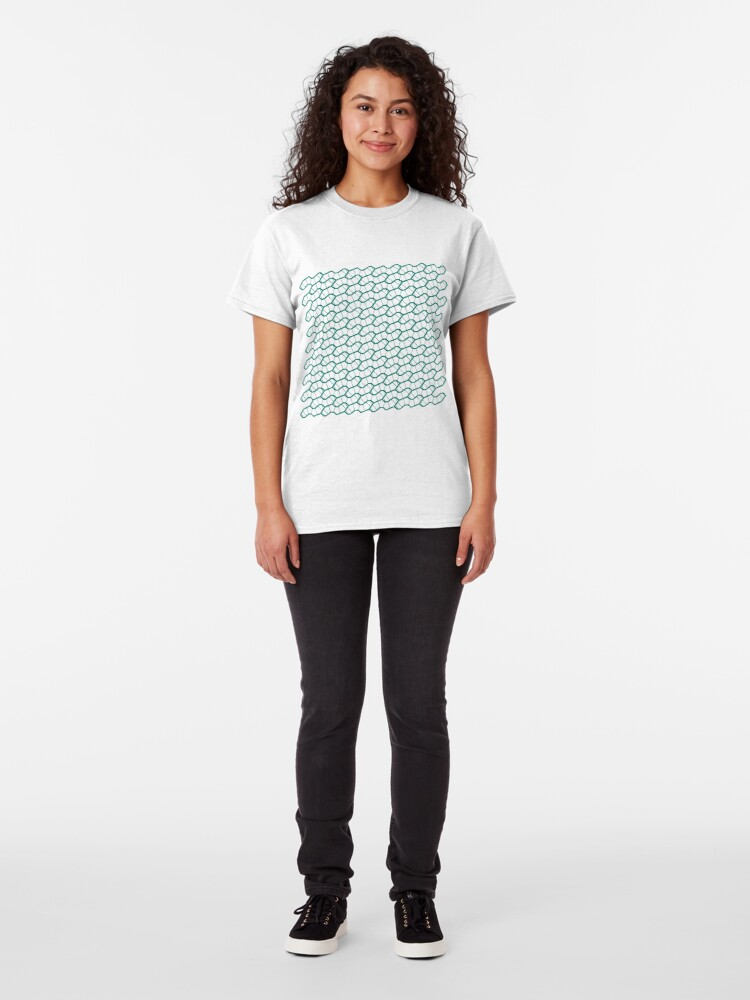 Alternate view of Sphagnum - a pattern Classic T-Shirt