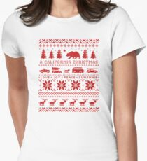 California Christmas Pattern T-Shirt