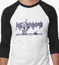 Confused Robot Men's Baseball ¾ T-Shirt