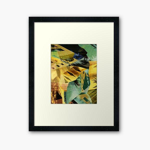 Green salvation Framed Art Print