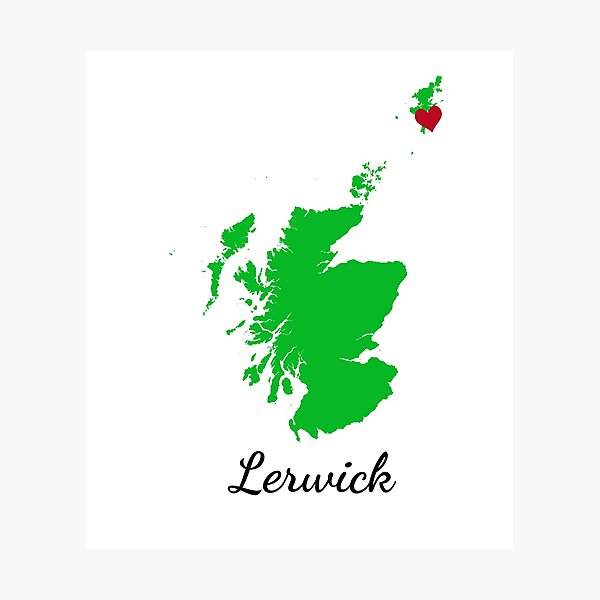 Lerwick Photographic Print