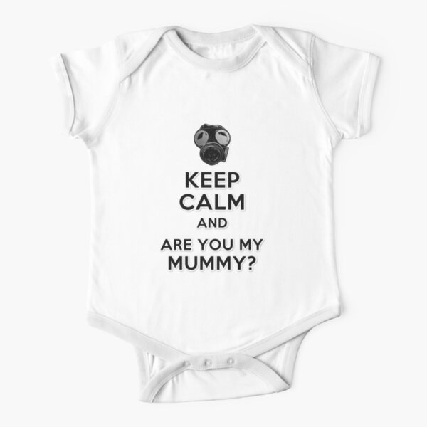 Are You My Mummy? Short Sleeve Baby One-Piece
