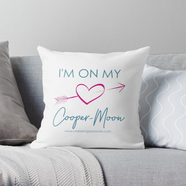 Cooper-Moon Throw Pillow