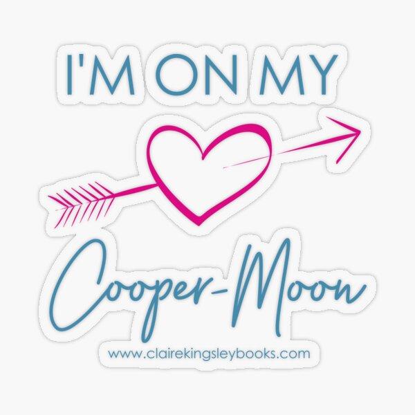 Cooper-Moon Transparent Sticker