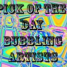 Pick Of the day,Bubbling Artists banner by MaeBelle