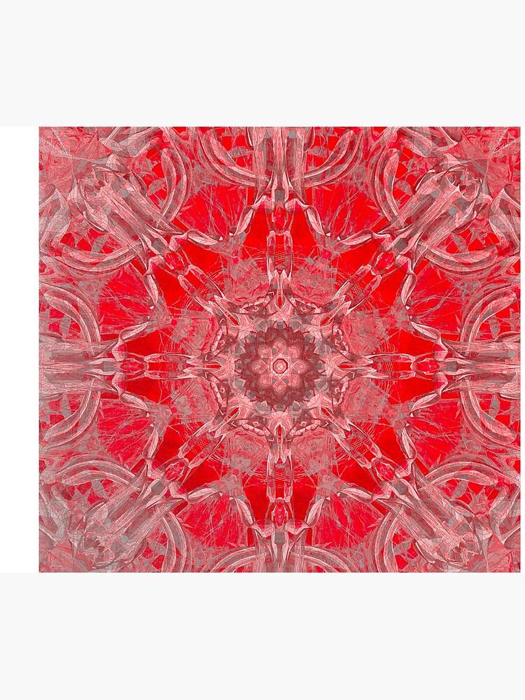 Graceful Red Memories In An Atique Pattern by CrunchySqueak