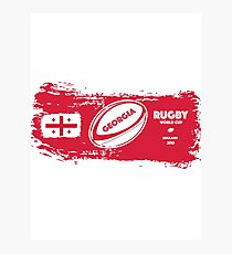 Georgia Rugby World Cup Photographic Print