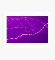 Mapping Purple #11 - NSW Art Print