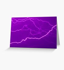 Mapping Purple #11 - NSW Greeting Card