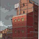 Harts Mill north by David  Kennett