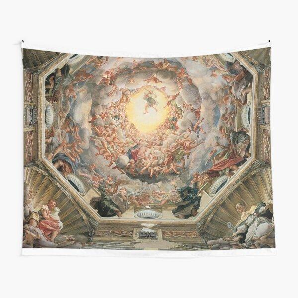 Sistine Chapel Ceiling Michelangelo  Tapestry