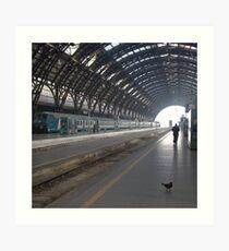 Milan - I Travel Art Print