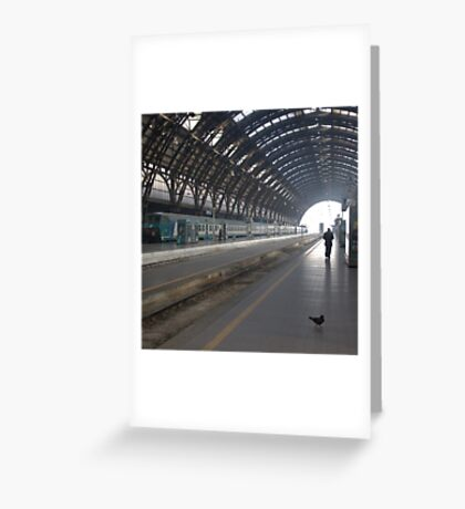 Milan - I Travel Greeting Card