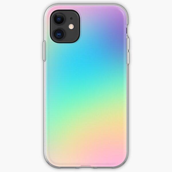 Soft Colorful Gradient iPhone Soft Case