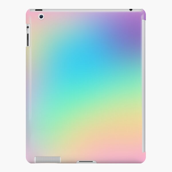 Soft Colorful Gradient iPad Snap Case
