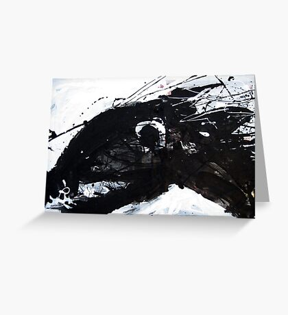 Black Horse 4 Greeting Card