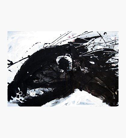 Black Horse 4 Photographic Print