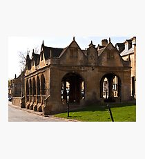 Chipping Campden Market Hall  Cotswolds UK  Photographic Print