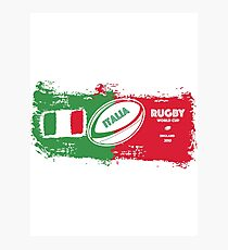 Italia Rugby World Cup Photographic Print