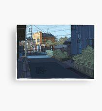 Laneway Crows Canvas Print