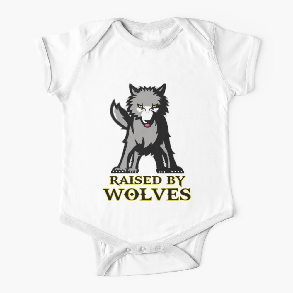 Raised By Wolves  Baby One-Piece
