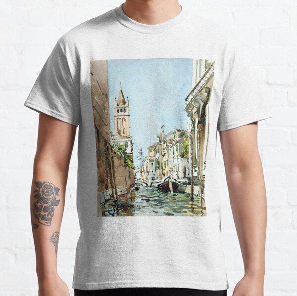 Edward Darley Boit Rio di San Barnaba, Venice Classic T-Shirt