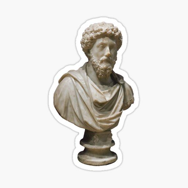 Statue or Bust of Marcus Aurelius Sticker