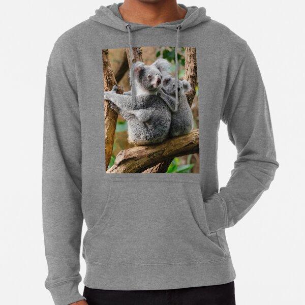 Koala, maman bébé Sweat à capuche léger