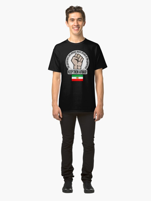 Alternate view of Support the fight for freedom in Iran! Classic T-Shirt