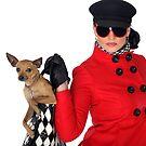 SVetlana And Dog by VladimirFloyd