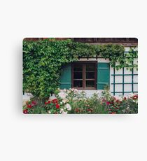The Charming Garden Canvas Print