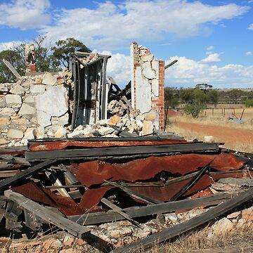 Farmhouse, Meckaring Western Australia by Danthesnapper