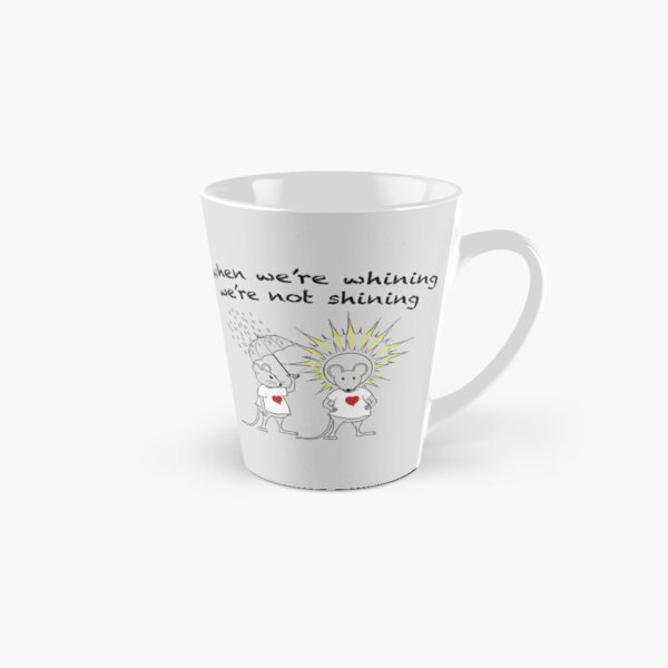MantraMouse® Shining Cartoon in Color on Gray BackGround Tall Mug