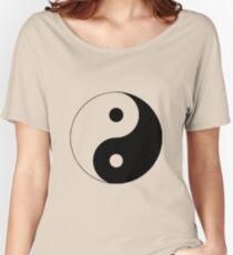 """""""Yin Yang"""" Clothing Women's Relaxed Fit T-Shirt"""