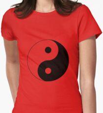"""""""Yin Yang"""" Clothing Women's Fitted T-Shirt"""