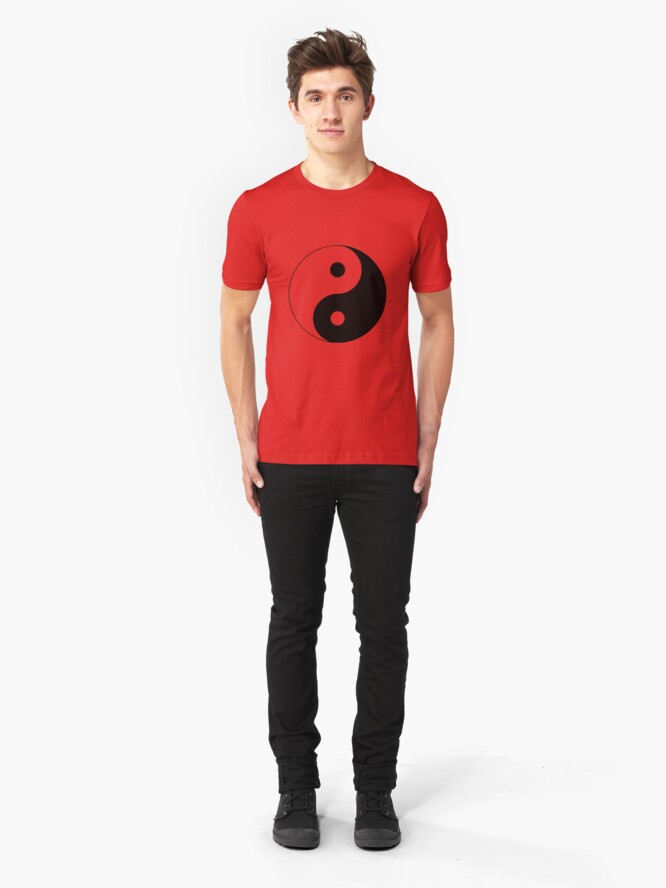 "Alternate view of ""Yin Yang"" Clothing Slim Fit T-Shirt"