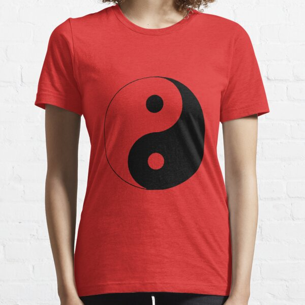 """Yin Yang"" Clothing Essential T-Shirt"