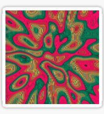 Abstract random colors #5 | Meditative thing! Sticker