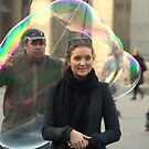 Paris - Bubble attack by Jean-Luc Rollier